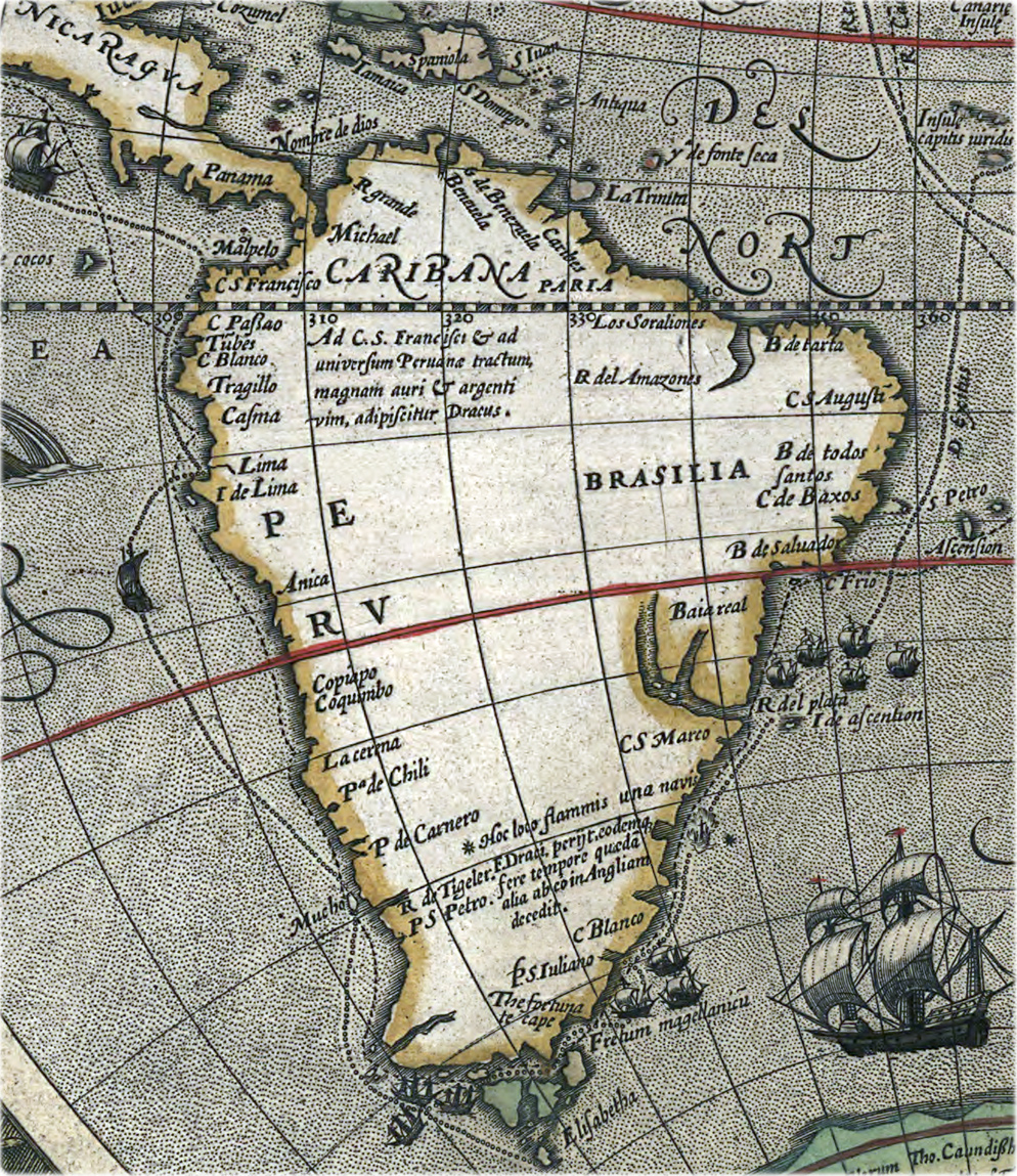 América do Sul Hondius